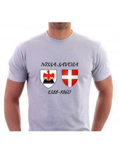 sweat-shirt pour niçoise du slogan nissart M'en bati sieu nissarda