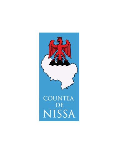 Adhésif plaque de voiture Countea de Nissa