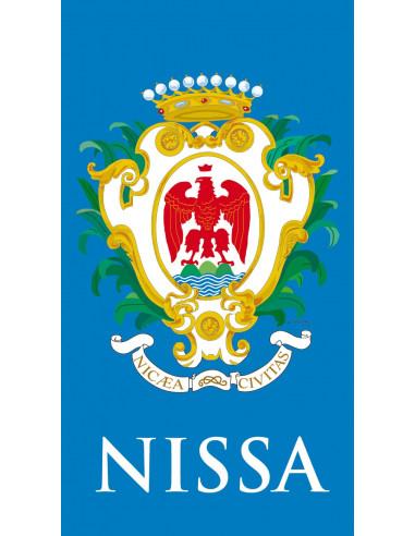 Adhésif plaque de voiture Nissa