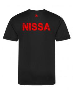 """Sweat-shirt blanc de Nice enfant Nissartdale avec aigle de nice et écriture """"nissart"""""""