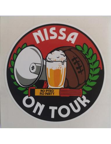 Autocollant Nissa On Tour
