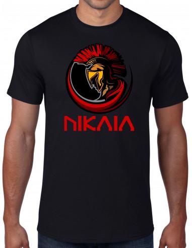 NIKAIA, tee-shirt du guerrier grec nissart